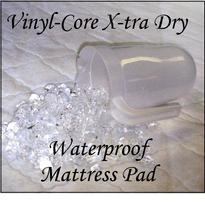 PICTURE OF VINYL CORE MATTRESS PAD