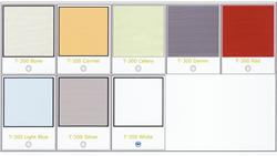 PICTURE OF T-600 FABRIC COLORS