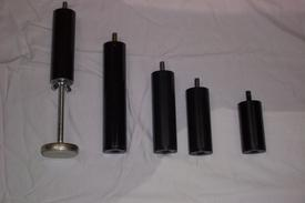 PICTURE OF VARIOUS HEIGHT LEGS FOR  L & P LIFESTYLE BASES